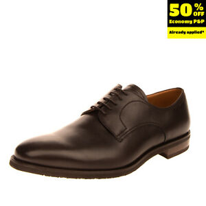 LEFT SHOE ONLY RRP €535 BALLY Leather Derby Shoe EU 44 UK 10 US 11 Lace Up