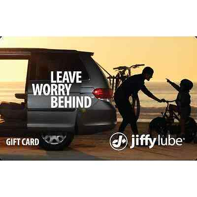 Jiffy Lube® eGift Card - $25 $50 $100 - Email delivery