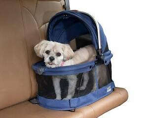 Pet-Gear-VIEW-360-Dog-Cat-Pet-Carrier-Car-Seat-in-One-Midnight-River