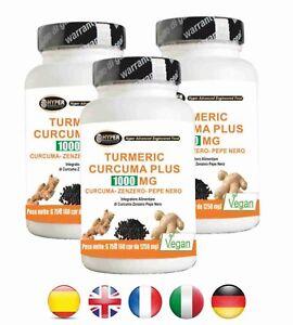 Curcuma-Pimienta-Negra-Jengibre-180-tabletas-Turmeric-Curcumina-Piperina