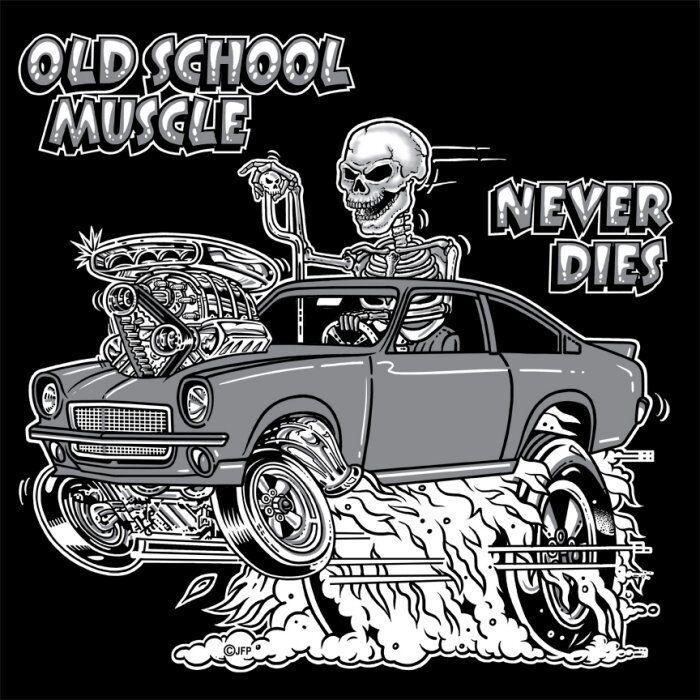 OUTLAW OLD SCHOOL HOT ROD DRAG MUSCLE RACE CAR BLOWER SKULL SWEATSHIRT