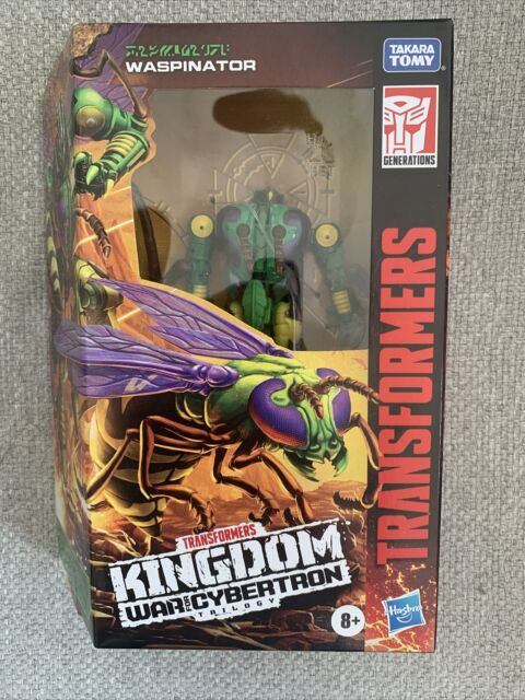 TRANSFORMERS WAR FOR CYBERTRON WASPINATOR WFC-K34 KINGDOM DELUXE ACTION FIGURE