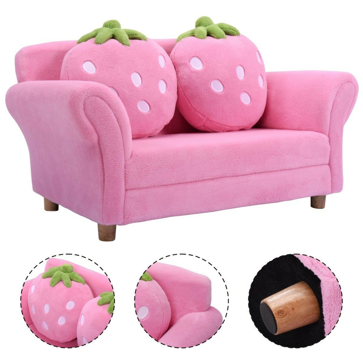One Kid Sofa With 2 Pillows