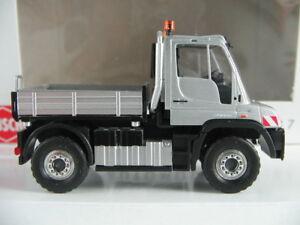 Busch-50917-Mercedes-Benz-Unimog-u-430-2013-034-uso-del-vehiculo-034-1-87-h0-nuevo-en-el-embalaje