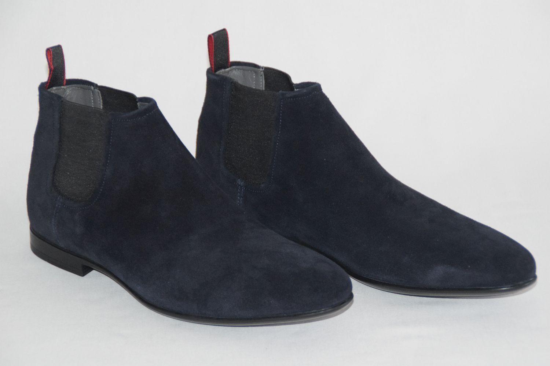 Hugo BOSS boots, mod. Pachel, Mis. EU 44//  11, Dark Blue