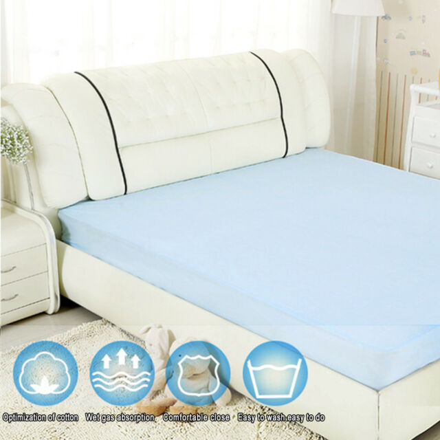 Amazing Washable Waterproof Incontinence Bed Sheets Seat Pads Protection Mattress  (1X2m)
