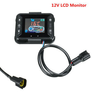 12V-LCD-Monitor-Air-Parking-Diesel-Heating-Heater-Controller-Switch-Car-Truck