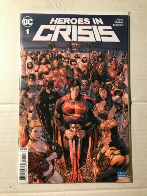 Heroes in Crisis #5A Hairsine Variant NM 2019 Stock Image
