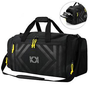 Details About Gym Bag Kk Sport Duffle 47l Large Shoes Compartment For Men Women