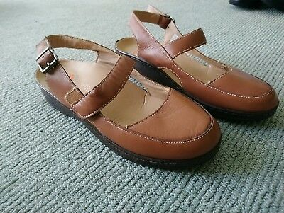 Orthoheel Mary Biomechanics Leather Shoes Brown Sz 8 Au/us 6uk 39.5eu Near New Clothing, Shoes & Accessories