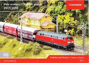 Fleischmann-990417-2017-2018-H0-Model-Railways-Main-Catalogue