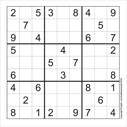 SUDOKU Rätsel *** 250 Stück *** 9x9 Leicht inkl Lösungen TOP!