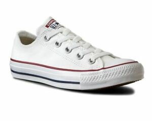 Converse-All-Star-OX-M7652C-Canvas-Trainers-Optical-White
