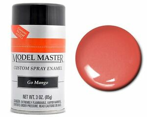 Testors Model Master Flat Red Enamel Spray Paint Can 3 Oz 1250 Best
