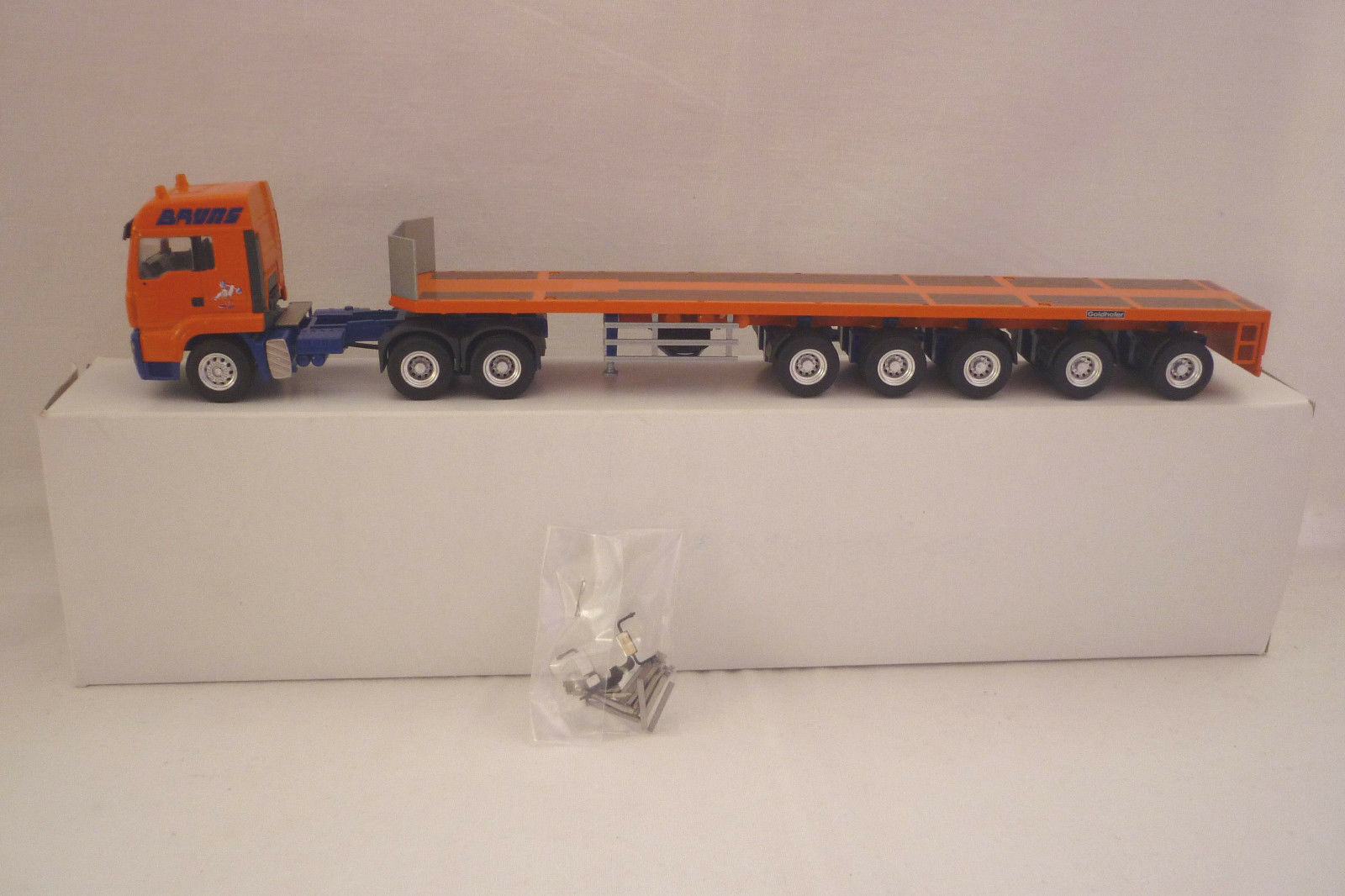 Conrad-Metal model-homme TGA  l37 Ballast Bridge-Original Box - 1 50 (7.bm-217)  bienvenue pour acheter