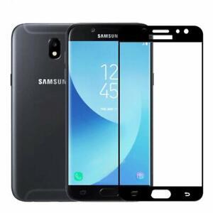 Protection-D-039-ecran-En-Verre-Trempe-Transparent-Pour-Samsung-J8-Noir