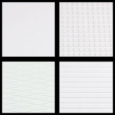 Hydro Turf Sheet Material Cut Waffle White 37x49