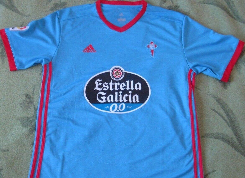Camiseta Shirt Maglia CELTA Real Club 10 IAGO ASPAS Adidas XL New