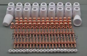 120pcs PT-31 LG-40 Plasma Cutter Extended Cut-40 40D 50