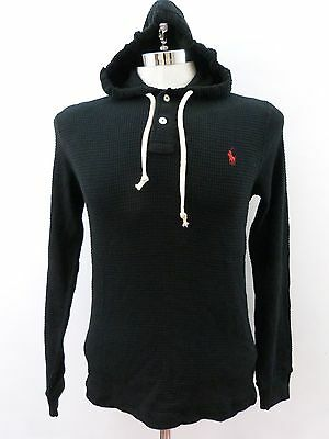 $98 Men's Polo Ralph Lauren Thermal Waffle Pullover Hoodie ALL SIZES NWT