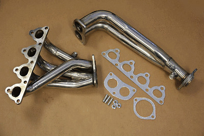 CIVIC/CRX/DEL SOL SOHC D-SERIES 4-2-1 STAINLESS RACING MANIFOLD HEADER/EXHAUST