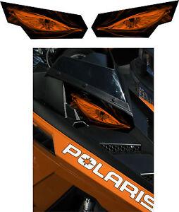 POLARIS-RUSH-PRO-RMK-600-700-800-INDY-ASSAULT-155-163-HEADLIGHT-DECAL-STICKER-a