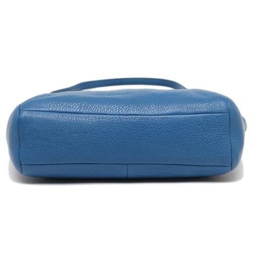 Coach azul bandolera Nwt Authentic bandolera bolso 5IIY0X