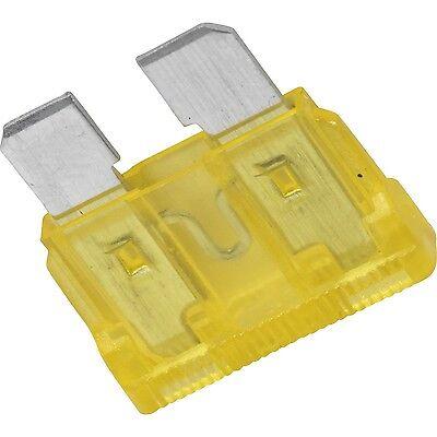 for car motorbike van New 20A standard fuses 20 AMP blade fuses pack of 20