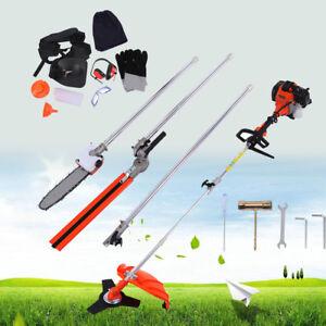 52cc-5-in-1-Petrol-Hedge-Trimmer-Chainsaw-Brush-Cutter-Grass-Strimmer-Pruner