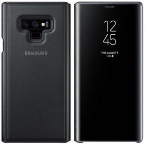 Samsung-Etui-Vue-Claire-EF-ZN960CBE-pour-Galaxy-Note-9-N960-Housse-Etui-Noir