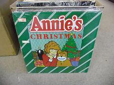 ANNIE Annie's Christmas vinyl LP EX 1982 in shrink