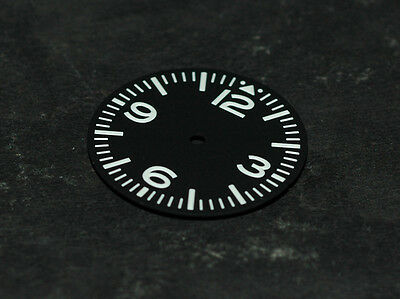 Sterile Pilot Aviation Aviator Dial Seiko 7S26 NH35 movement with 4.5 Date