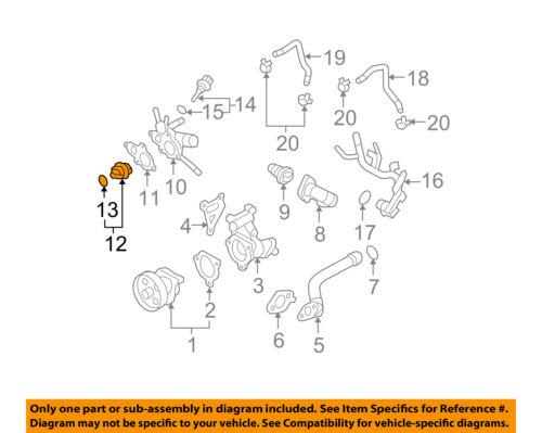 NISSAN OEM Water Pump-Water Valve 212306N20A