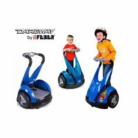 Kids Feber Dareway 12v Battery Electric Ride On Car Balance Scooter Blue