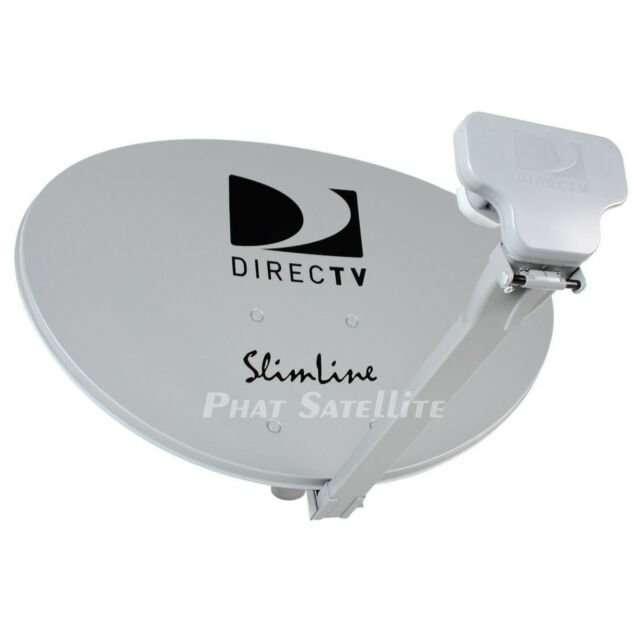 Direct Tv Satellite >> Direct Tv Directv Dtv Slimline Kaku Satellite Dish Antenna Swm3 Swim