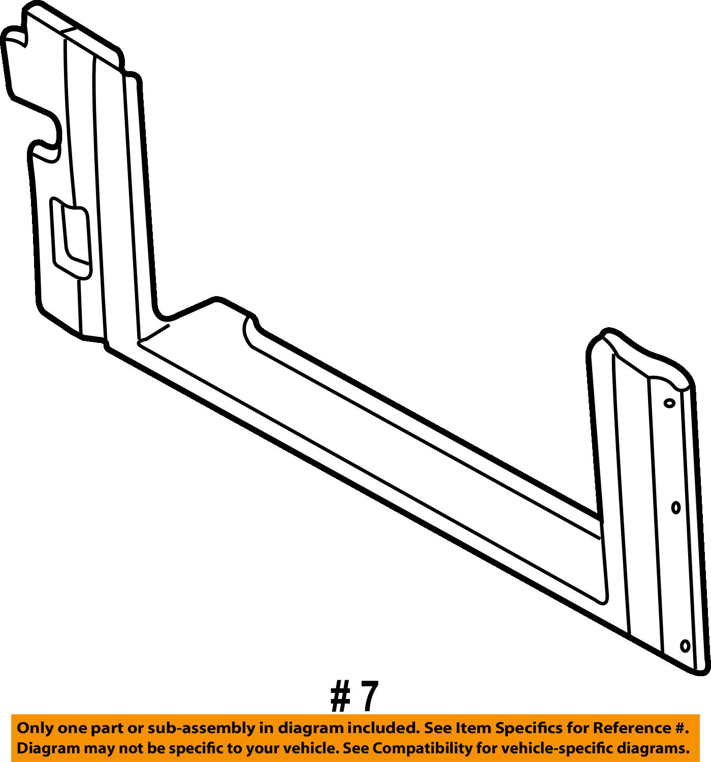 Gm Oem Radiator Support Air Baffle Duct Deflector 15749195 Ebay Escalator Schematic Norton Secured Powered By Verisign
