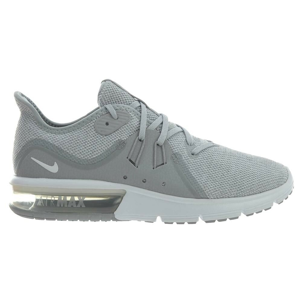 f2774eb6474 Nike Air Max Max Max Sequent 3 Running shoes Wolf Grey White-Pure Platinum  921694