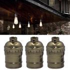 E27 Sockel Edison Retro Antike Fassung Lampenfassung Halter Hängelampe Lampenfuß