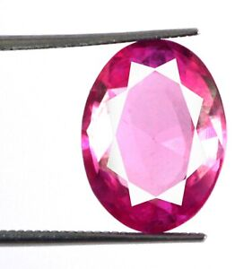 Padparadscha Pink Sapphire 8.85 Ct Oval Gemstone 100% Natural Certified L6223
