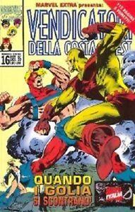 MARVEL EXTRA n° 16 - I VENDICATORI (Marvel It. 1995) - Italia - MARVEL EXTRA n° 16 - I VENDICATORI (Marvel It. 1995) - Italia
