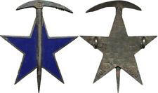 Brevet d'Alpiniste, émail, bronze, dos guilloché, 2 anneaux, Drago GS 35 (9254)