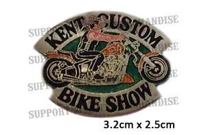 HELLS-ANGELS-KENT-CUSTOM-BIKE-SHOW-1994-Pin-Badge-HIGHLY-COLLECTABLE-RARE-KCBS