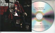 PAUL HEATON The Last King Of Pop 2018 UK numbered 23-track promo test CD