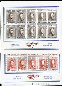 Belgium-Stamps-B883-91-Lot-of-50-XF-OG-NH-Stamp-Sets-Scott-Value-325-00