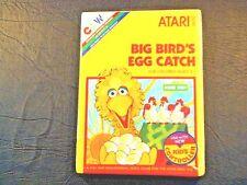 Big Bird's Egg Catch (Atari 2600) New In Box (NIB) (Old Stock) NTSC