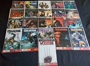 HUGE-WOLVERINE-LOT-2013-1-2-3-4-5-6-7-8-9-10-11-12-13-2014-1-8-21-BOOKS
