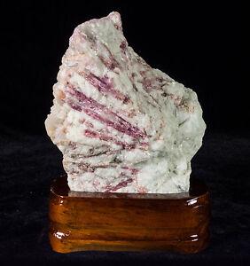 Tourmaline-On-Quartz-Crystal-Cluster-Natural-Specimen-from-Brazil