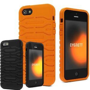 Cygnett-Resistente-Piel-Funda-para-Iphone-5-5S-Se-Bulldozer-Caja-Del-Silicio