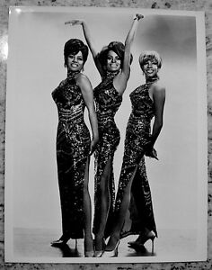 Diana-Ross-amp-The-Supremes-Press-Photo-1969-Stamped-Date-ABC-On-Air-Snipe-VTG