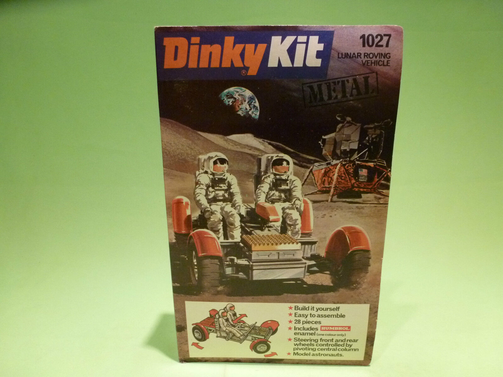 DINKY TOYS KIT 1027  - LUNAR ROVING VEHICLE   -  IN GOOD CONDITION  -  IN BOX